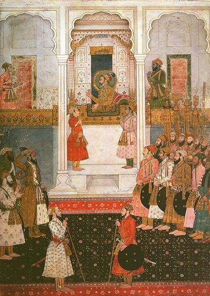 காதலின் புனிதச் சின்னமா தாஜ்மஹால் ? 426px-Shah_Jahan