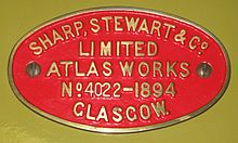 Sharp, Stewart Maker's plate.JPG