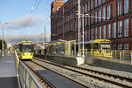 Shaw and Crompton Metrolink stop.jpg