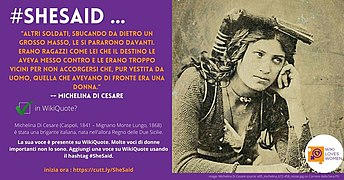 SheSaid campaign postcards featuring Michelina Di Cesare.jpg