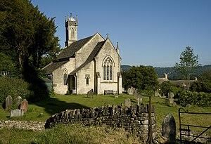 Sheepscombe - Image: Sheepscombe St Johns Church