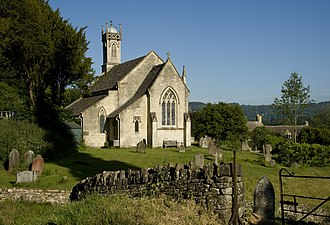Sheepscombe - Image: Sheepscombe St Johns Church