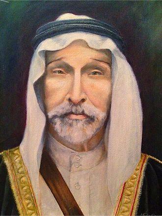Bani Sakhr - Sheikh Haditha Al-Khraisha of the Bani Sakhr Tribe