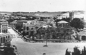 Sheikh Jarrah - Sheikh Jarrah briefly held by the Harel Brigade (Palmach) 24 April 1948
