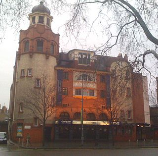 Shepherds Bush Empire music venue in Shepherds Bush, London, England