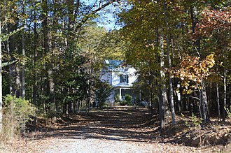 National Register of Historic Places listings in Chatham County, North Carolina - Image: Sheriff Stephen Wiley Brewer Farmhouse