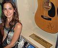 Sheryl Crow's guitar, HRC Aruba.jpg