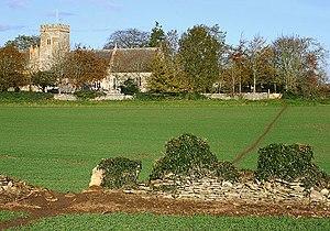 Shilton, Oxfordshire - Image: Shilton Church geograph.org.uk 350403