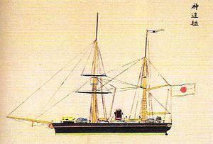 Japanese warship Shinsoku - Shinsoku