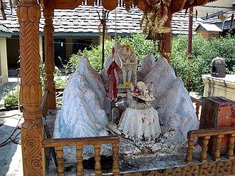 Kullu district - Image: Shiva shrine