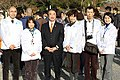 Shoichi Kondo and Officials of the Ministry of the Environment 20101212.jpg