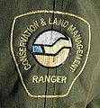 Shoulder badge CALM Ranger Coat 2006.JPG