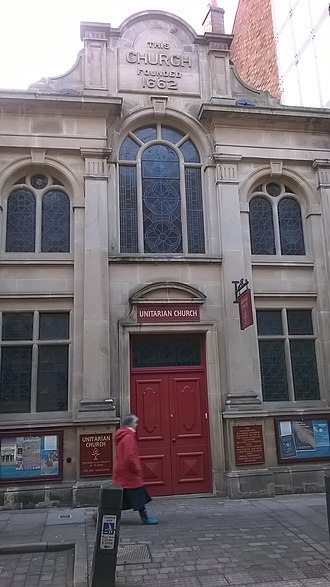 Religious views of Charles Darwin - As a child, Darwin attended Shrewsbury Unitarian Church