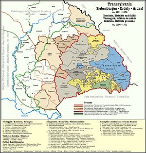 Voivode of Transylvania - Changes in the administration of Transylvania between 1300 and 1867