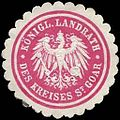 Siegelmarke Königlicher Landrath des Kreises St. Goar W0237511.jpg