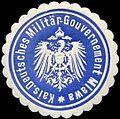 Siegelmarke Kaiserlich Deutsches Militär - Gouvernement Mlawa W0238084.jpg