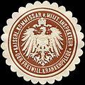 Siegelmarke Kaiserlicher Kommissar und Militärischer Inspekteur der Freiwilligen Krankenpflege W0216679.jpg