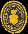 Siegelmarke Nieder-Österr. Landes-Taubstummenschule in Ober-Döbling W0320854.jpg