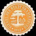 Siegelmarke Siegel der Stadt Oranienburg W0217275.jpg