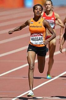 Sifan Hassan Ethiopian-Dutch distance runner