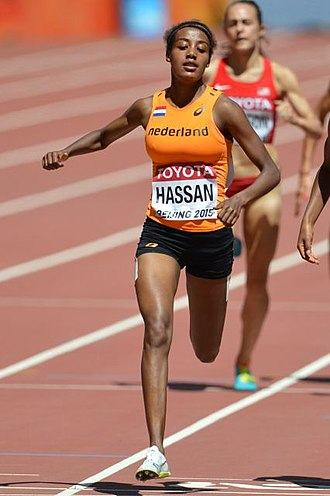 Sifan Hassan - Hassan at the 2015 World Championships
