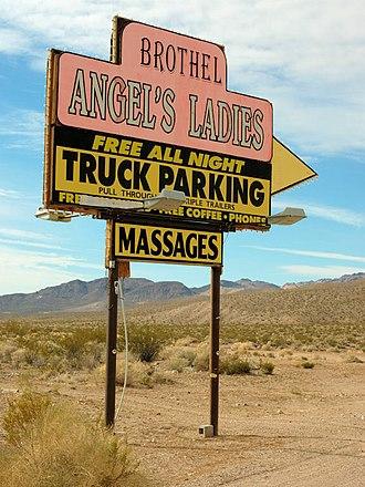 Angel's Ladies - Angel's Ladies sign