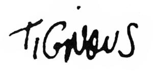 Tignous - Image: Signature tignous