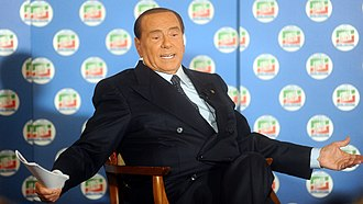 2018 Italian general election - Berlusconi in Trento during the electoral campaign, 2018