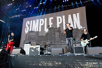 Simple Plan - Simple Plan performing at Rock'n'Heim on 23 August 2015