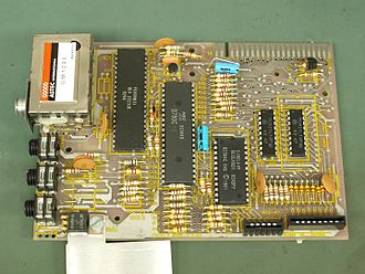 ZX81 - Revised Sinclair ZX81 PCB Revision 3 Top Side