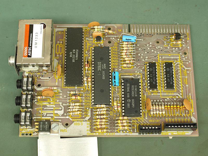 File:Sinclair ZX81 PCB Top.JPG