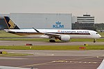 Singapore Airlines, 9V-SMB, Airbus A350-941 (28476282855).jpg