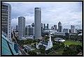 Singapore Raffles view morning from my hotel-1 (11953653575).jpg