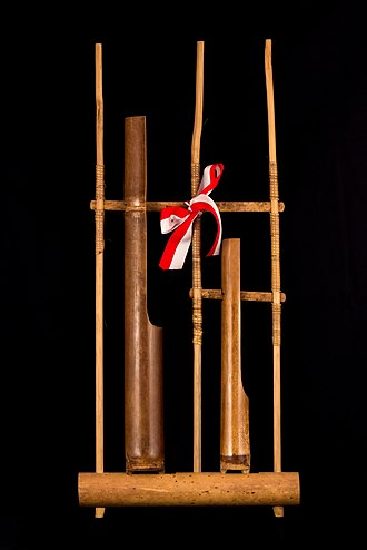 Angklung - Single pitch angklung, for use in orchestras