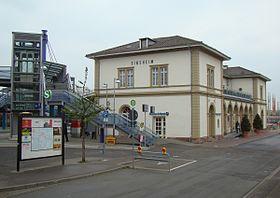 Sinsheim Elsenz Hauptbahnhof Wikipedia