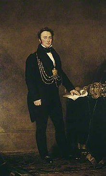 Sir George Goodman - Mayor of Leeds 1836, 1847, 1850-52. By John Simpson (1782 –1847).jpg
