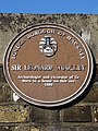 Sir Leonard Woolley Archaeologist and excavator of Ur Born in a house on this site 1880.jpg
