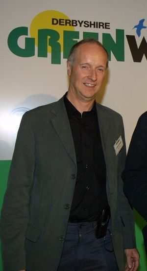 Martin Doughty - Sir Martin Doughty, former leader of Derbyshire County Council at the council's annual 'Greenwatch Awards' for environmental achievement in May 2003