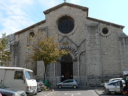 Sisteron Cathedral Front.JPG