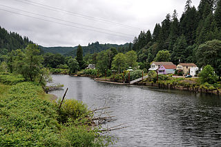 Siuslaw River river in the United States of America
