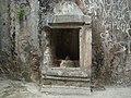 Sivalingam on the wall of Kangra Fort.JPG