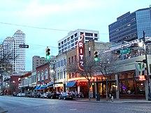 Texas-Musica-Sixth Street Austin