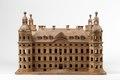 Skoklostermodellen, modell i trä av Skoklosters slott - Skoklosters slott - 87841.tif