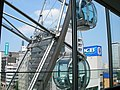Sky-Boat Ferris wheels with SUNSHINE SAKAE building in Nagoya.jpg