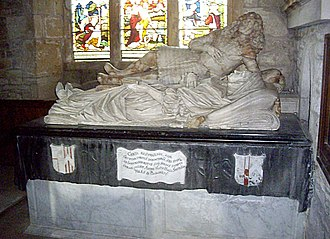 House of Percy - Image: Smithson tomb chest, St John the Baptist church, Stanwick geograph.org.uk 2018824