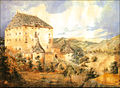 Snežnik Castle before 1860.jpg