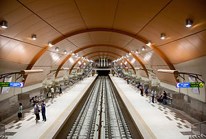 Sofia Metro Station Serdica II October 2012 PD 5.jpg