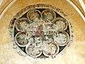 Soissons (02), abbaye Saint-Jean-des-Vignes, réfectoire, oculus factice avec peintures murales côté nord 2.jpg