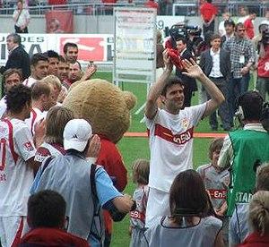 Zvonimir Soldo - Zvonimir Soldo at his Bundesliga farewell match