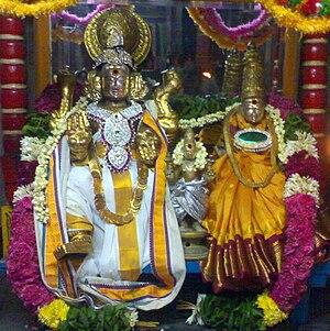 Thiruvarur - Image: Somaskanda thirunageswaram